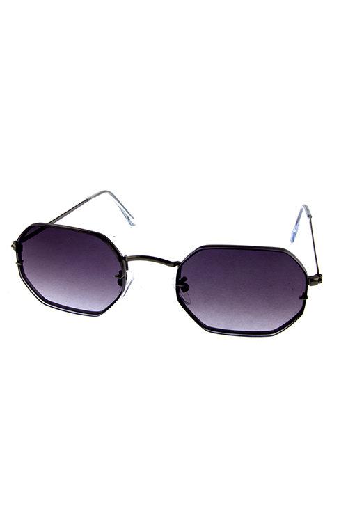 75c7ad6032 Womens rimless geometric metal sunglasses 1-OD18214