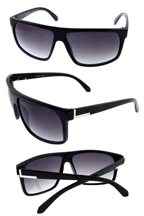 b5c1151f461 Mens fully rimmed fashion sunglasses D1-LEL041