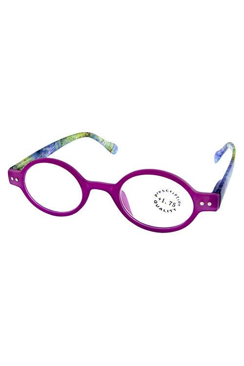 1debb40e08b6 Oval style plastic reading glasses S1-R565