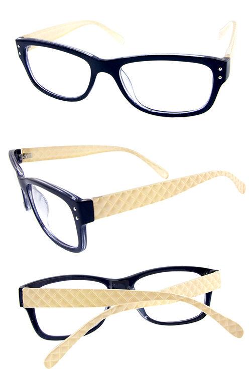 9fbb7f6db8 Womens plastic clear lens UV400 protected sunglasses C2-LEL042