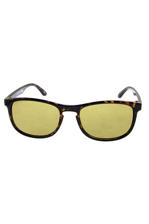 f23c8ec2c46 Mens Ekron Wooden horn rimmed square sunglasses D1-YB94031 – City ...