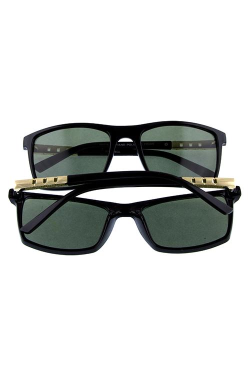 24d86179692 Unisex glass lens rim square retro sunglasses J2-RP1126GL