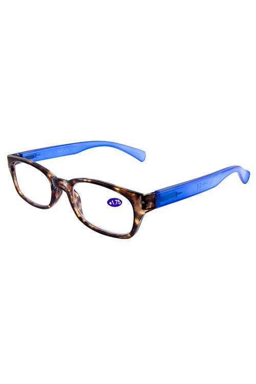 63d8d12ec11 Plastic modern square reader glasses G5-R376