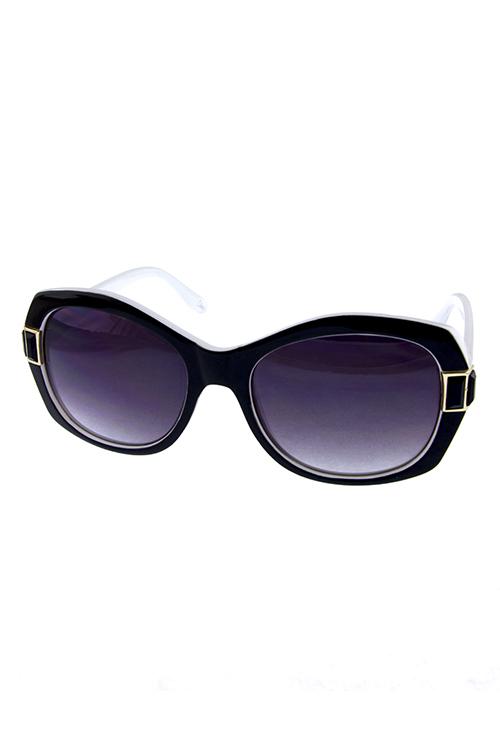 033dd966828 Womens cat eye square plastic fashion sunglasses F2-WHZ11019