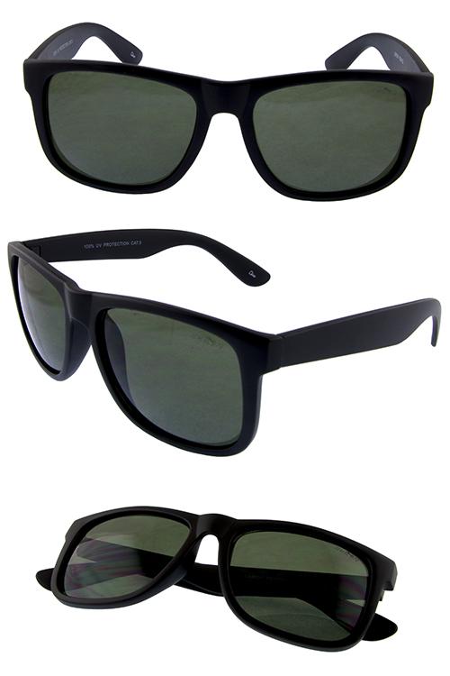0d1c801b394 Mens retro horn rimmed plastic sunglasses 2-YB94032