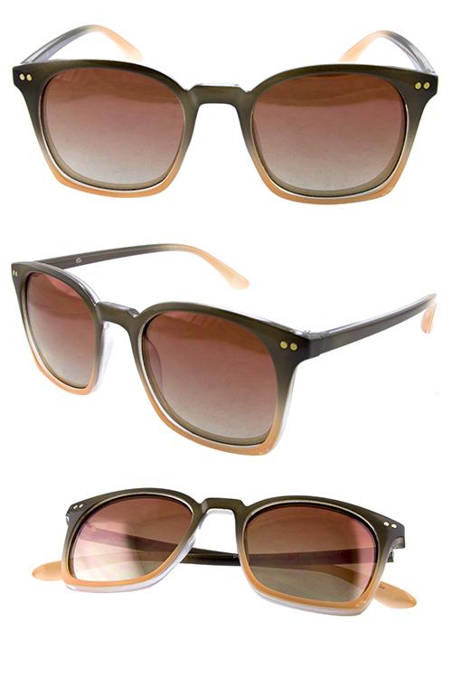 8a2e127c3b Womens timeless horn rimmed plastic sunglasses D5-DO91031