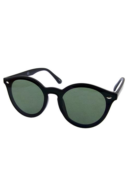 ed7e2ae531 Womens dapper horn rim plastic retro sunglasses D4-CH92015