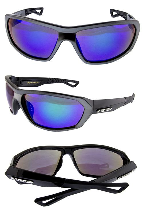 2884f153101 Mens deluxe bold plastic square sunglasses G3-X2562