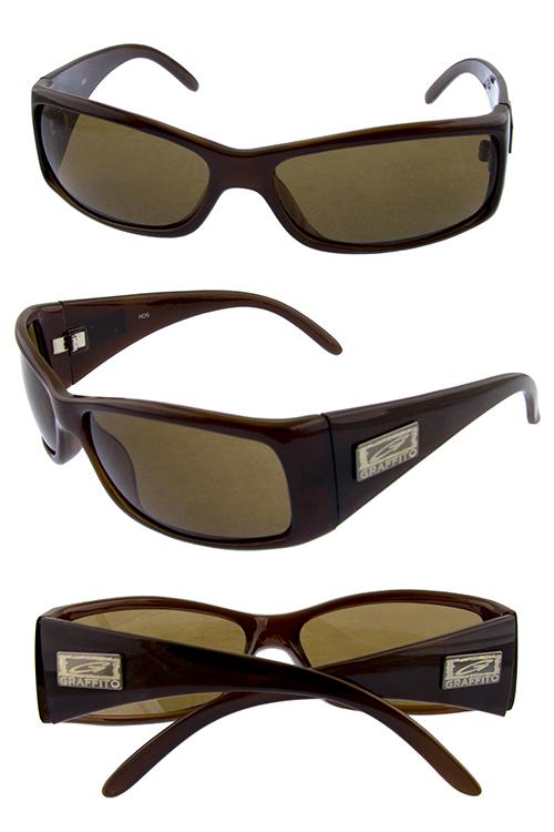 850402f8fc Mens gentleman square Graffito G style sunglasses G2-HD5G