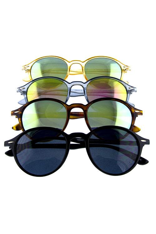 305dacf5984 Womens dapper horn rimmed plastic sunglasses C1-YB94015
