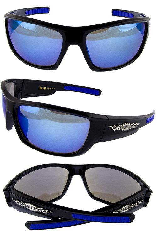 41a7f4f3fa2 Mens plastic chopper flame square sunglasses J3-CP6719