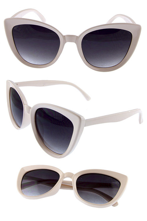 f68e7294125 Womens Plastic high pointed sunglasses A3-YB94018