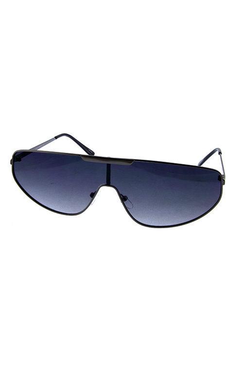 27158b050f Unisex metal retro vintage one piece sunglasses A5-4867