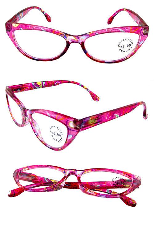 18c848e60254d Plastic pointed square fashion Reader Glasses K-R722