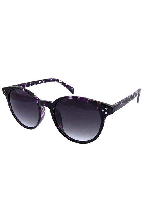 91d218396c Womens rounded dapper retro plastic sunglasses D-YB94021