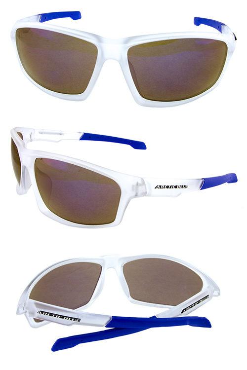 44b6820bf Mens square plastic retro active sunglasses OD1-AB47