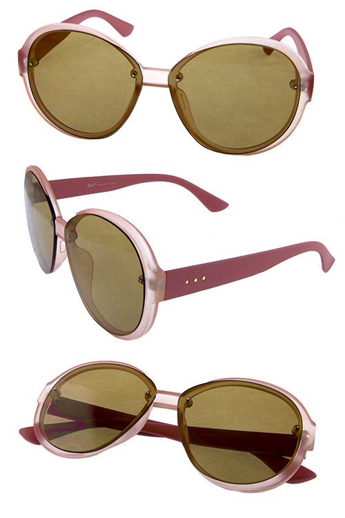 961dfbc64 Womens plastic rounded fashion sunglasses OD4-GSL22276