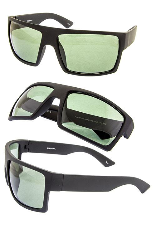 3a0c11ff6b4 mens big square plastic fully rimmed sunglasses B2-3863SFGL