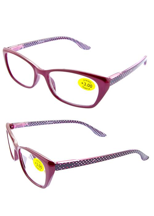 b8700b0c21c Rhinestone plastic premium reader glasses S4-R380 – City Sunglass